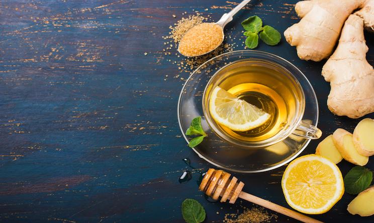 zenzero limone tisana detox benefici