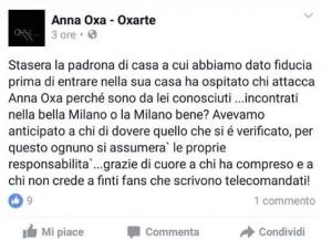 Anna Oxa massaggio