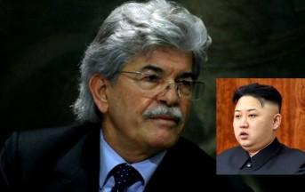 """Antonio Razzi a Striscia la Notizia: """"Kim Jong-un ogni tanto deve far scoppiare qualche bombicina"""""""