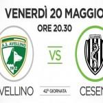 Avellino Cesena streaming