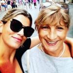 Emma Marrone selfie con sua mamma