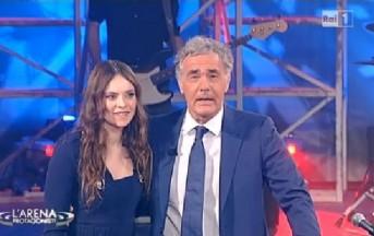 Francesca Michielin a L'Arena Giletti prima dell'Eurovision 2016: dalle liti con Simona Ventura al duetto con Laura Pausini