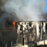 Lampedusa centro accoglienza incendio