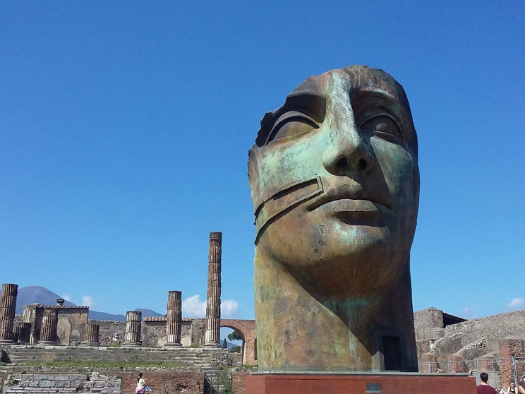 mitoraj scavi pompei mostra