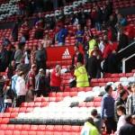 Old Trafford Manchester United falso allarme bomba