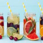 acqua detox frutta