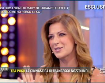 """Mary Segneri del GF a Pomeriggio 5: """"Ho perso 62 kg, ecco come ho fatto"""""""