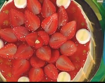 Ricette dolci La prova del cuoco: torta paradiso di fragola di Sal De Riso