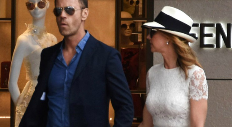 Rocco Siffredi e la moglie a Cannes