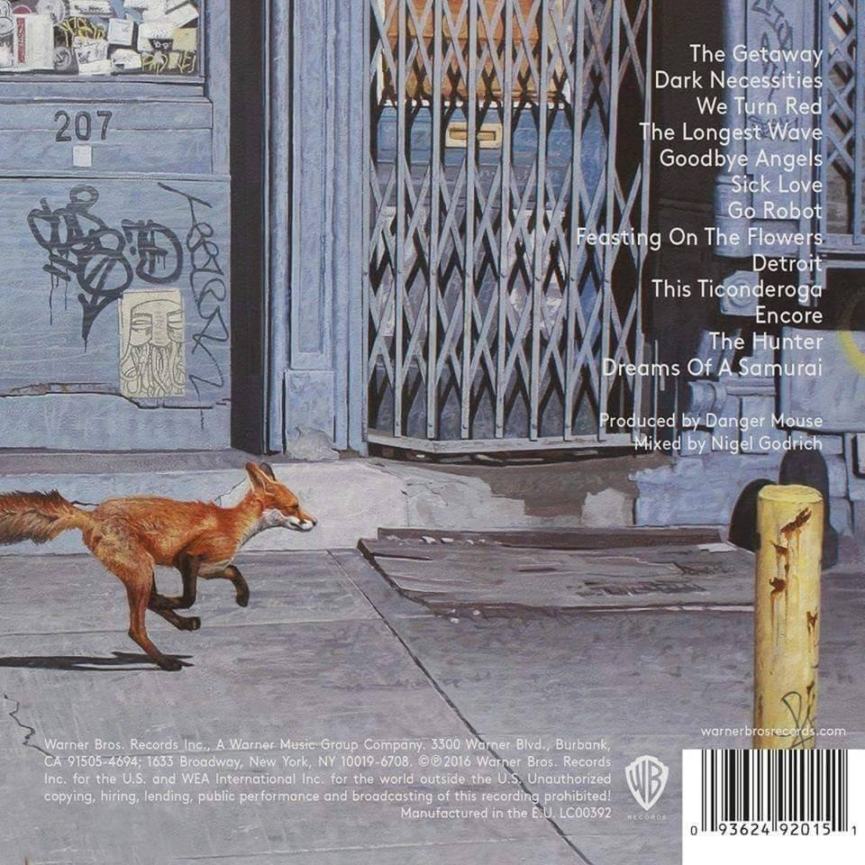 Copertina The Getaway Red Hot Chili Peppers