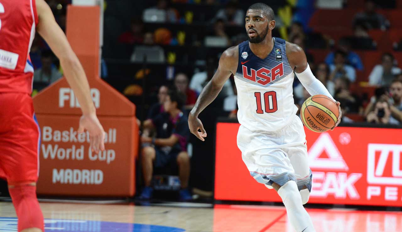Irving Team Usa Basket Rio 2016
