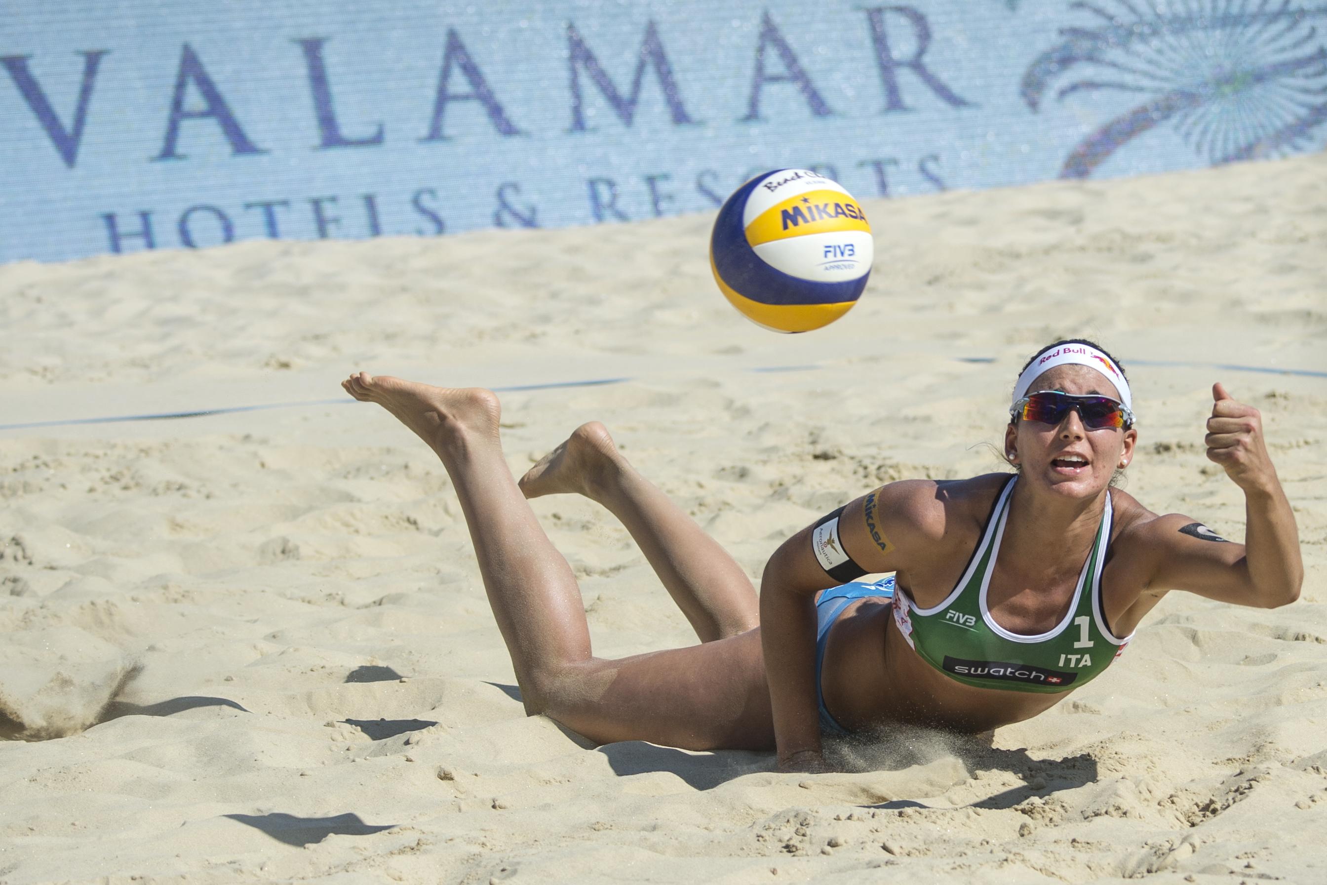 Marta Menegatti beach volley intervista