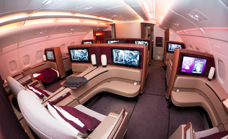 Le migliori first class in aereo cabine extra lusso e for Cabine di lusso gigantesche