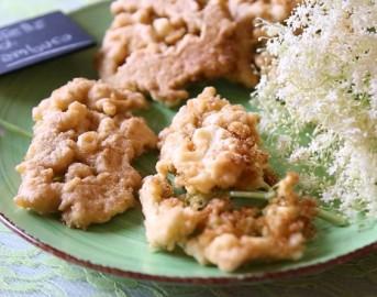 Frittelle salate di fiori di sambuco [VIDEORICETTA]