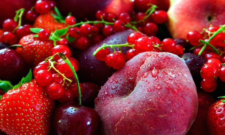 frutta rossa