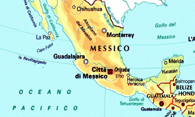 terremoto due scosse in messico