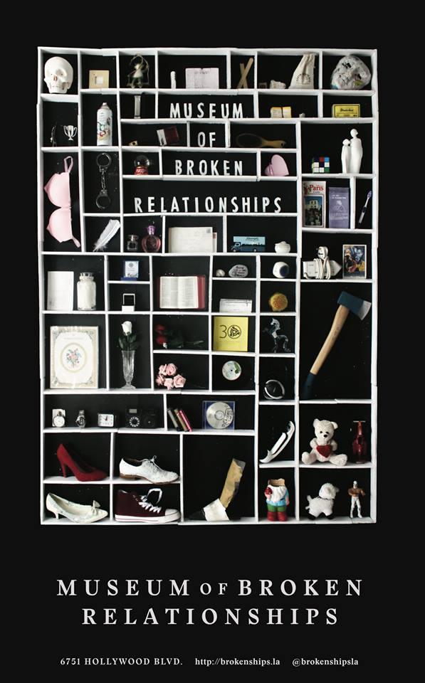 museo degli amori finiti a los angeles dolore e ironia con un pizzico di kitsch. Black Bedroom Furniture Sets. Home Design Ideas