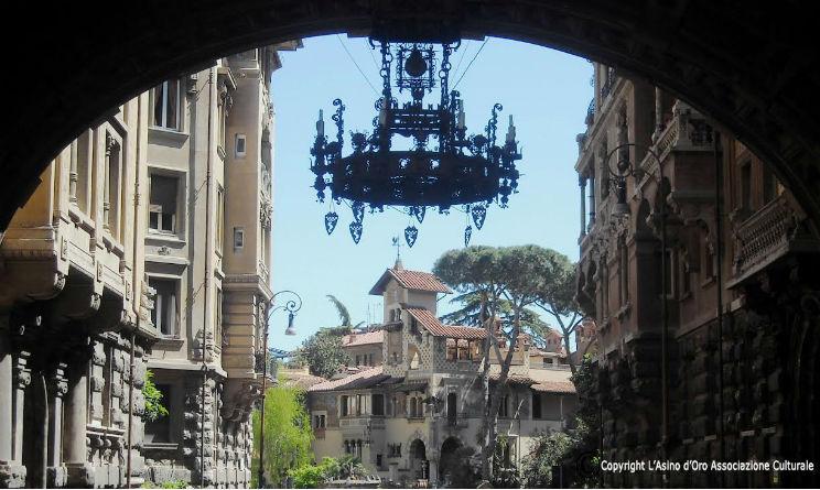 Quartiere Coppede a Roma stile