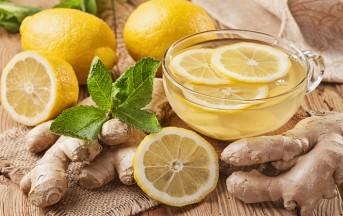 Tisana zenzero e limone per dimagrire velocemente, fai da te