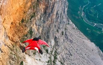 Chamonix (Video): l'ultimo fatale lancio di Dario con la tuta alare, tragedia sul Monte Bianco