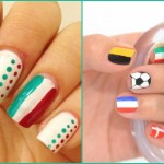 euro 2016, europei 2016, euro 2016 colori, nail art euro 2016, unghie euro 2016, unghie tricolore, nail art tricolore, unghie colori estate 2016,