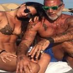 Gianluca Vacchi e la fidanzata Giorgia Gabriele