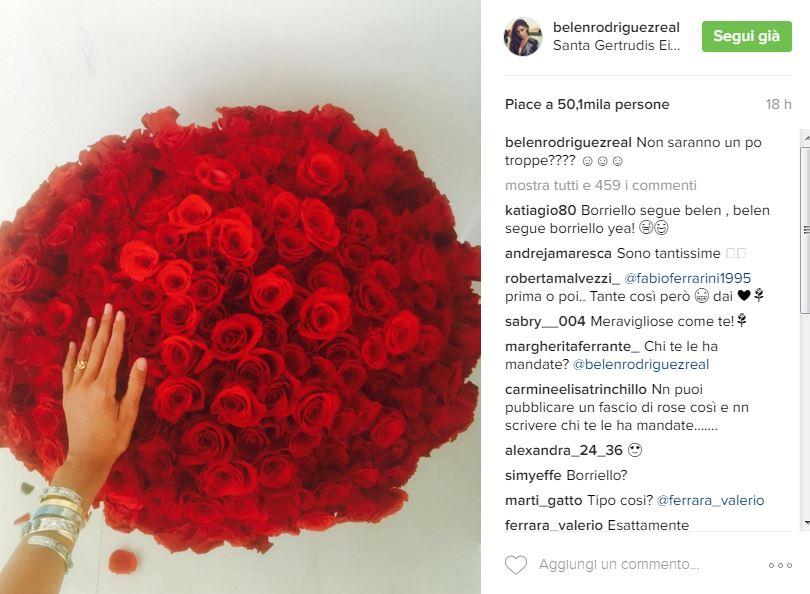 Belen Rodriguez Rose Rosse