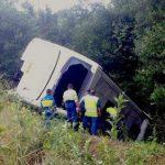 Autobus Francia incidente