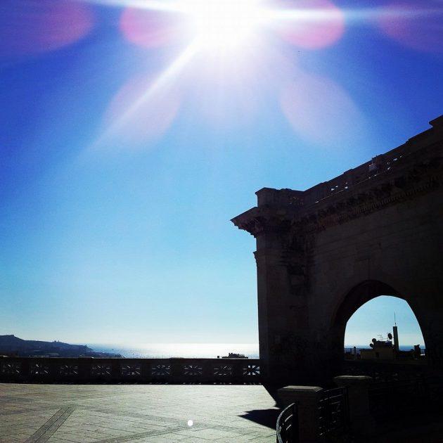 Cagliari, veduta dal Bastione Saint Remy