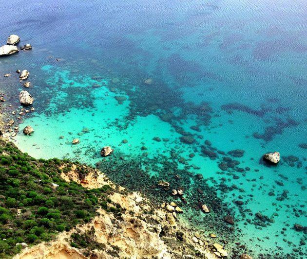 Cagliari, veduta dalla Sella del Diavolo Poetto