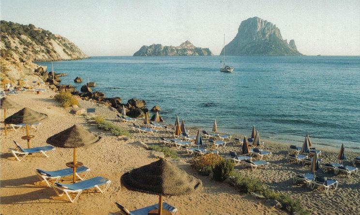 Spiagge più belle d'Ibiza Cala d'Hort