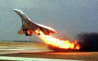 25 luglio 2000: 16 anni fa a Parigi il disastro aereo del Concorde