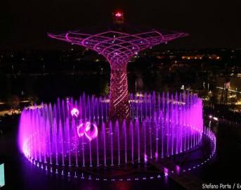 Expo Milano, l'albero della vita rinasce nei week-end tra giochi d'acqua e musica