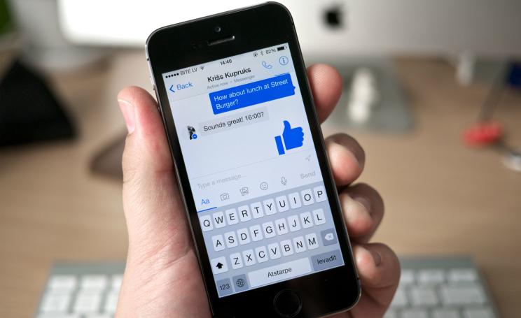 aggiornamento Facebook messenger