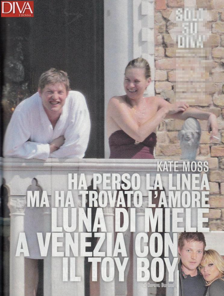Kate Moss Vacanza Italia 2016