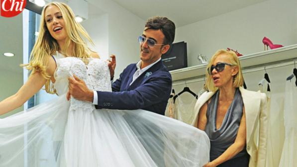 Martina Stella sposa