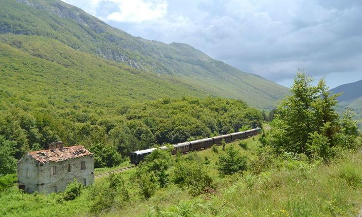 Treni storici agosto 2016 in Abruzzo