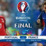 Dove vedere Francia Portogallo