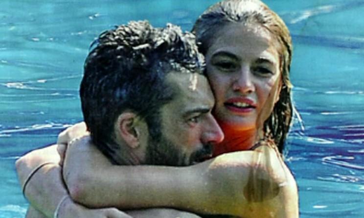Luca Argentero e Cristina Marino in barca le immagini sempre bollenti
