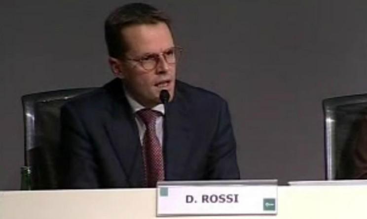 David Rossi Monte dei Pasqui di Siena