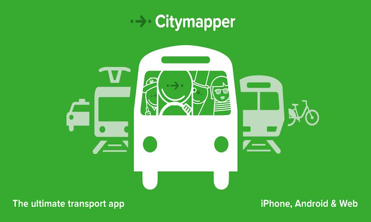citymapper app trasporto