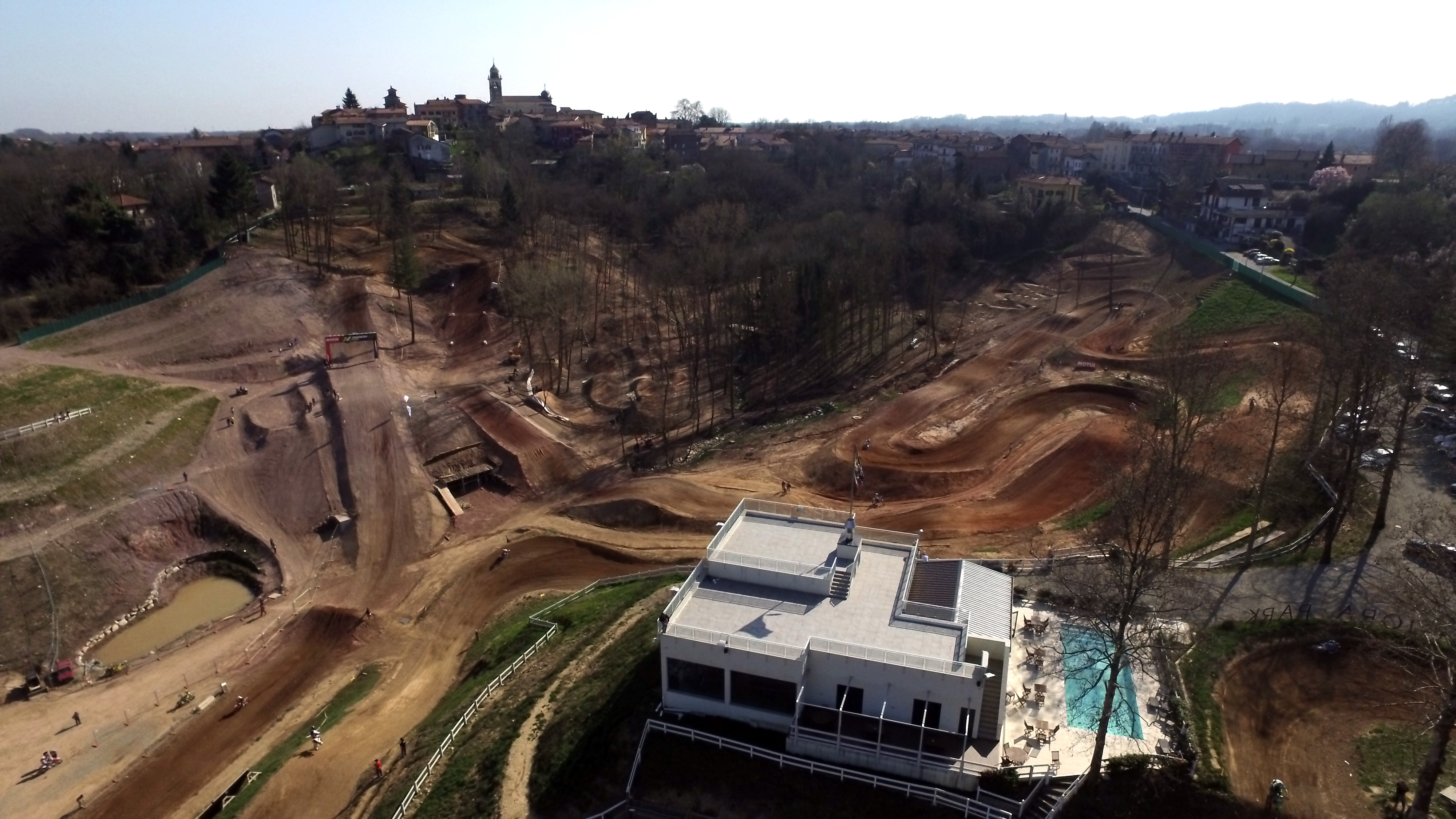 Maggiora Park veduta aerea