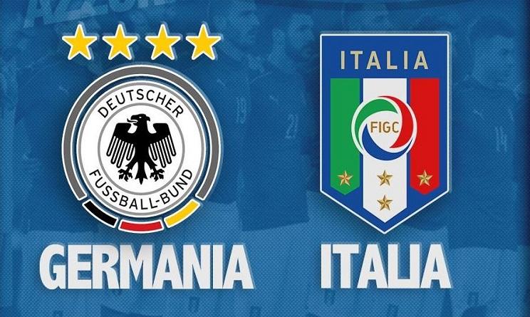 Italia Germania video gol