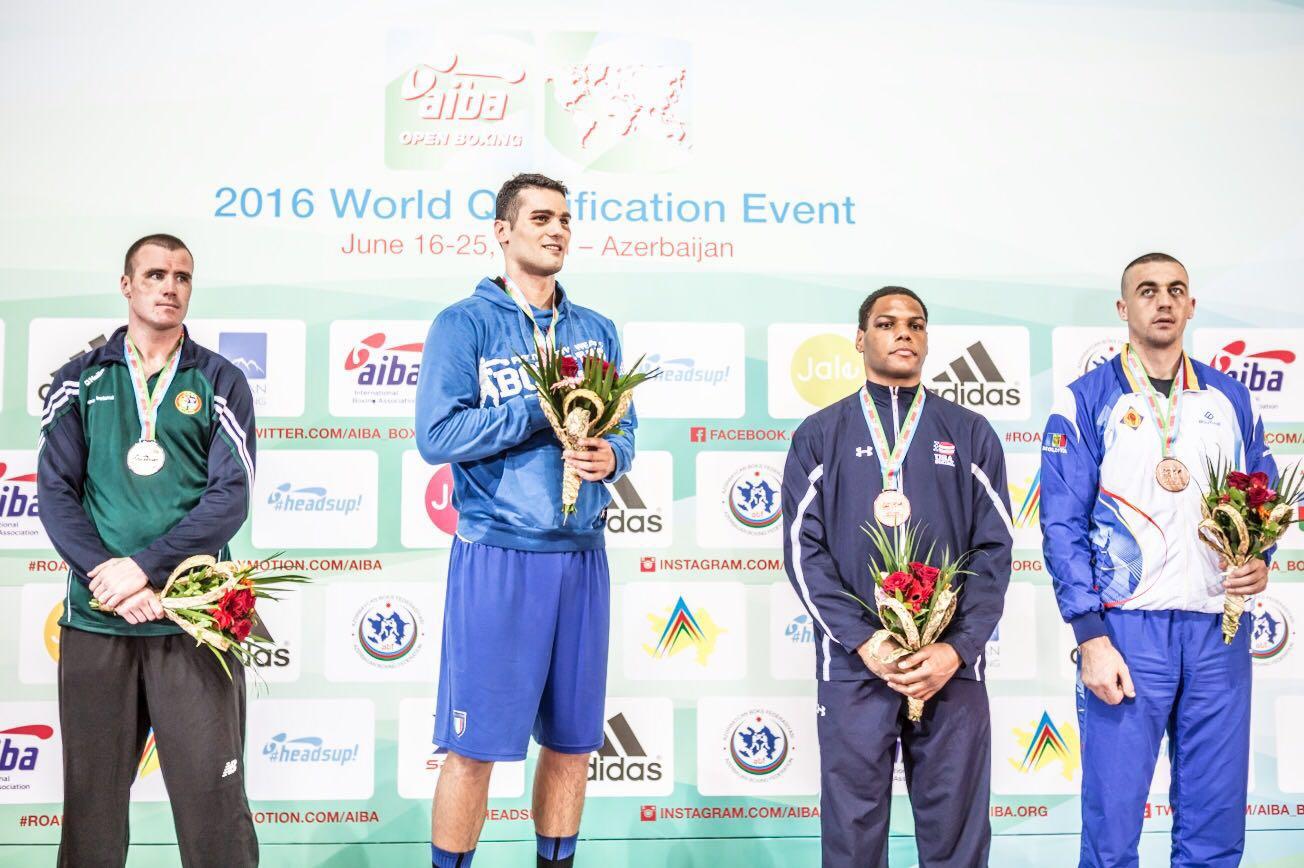 Guido Vianello boxe Olimpiadi Rio 2016