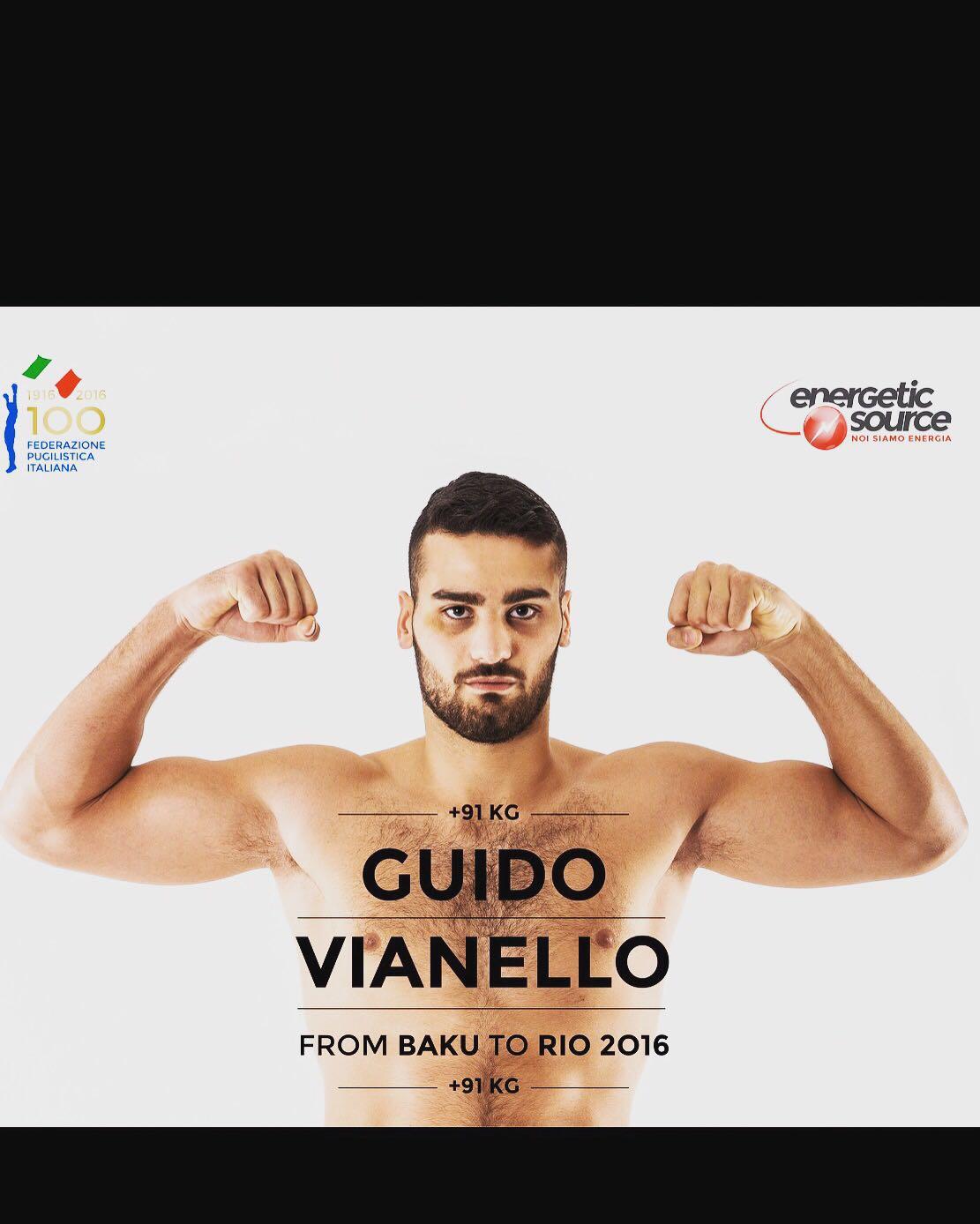 Guido Vianello Olimpiadi Rio 2016