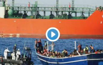 622 migranti sbarcati a Vibo Valentia: nella nave degli orrori anche 16 cadaveri [VIDEO]