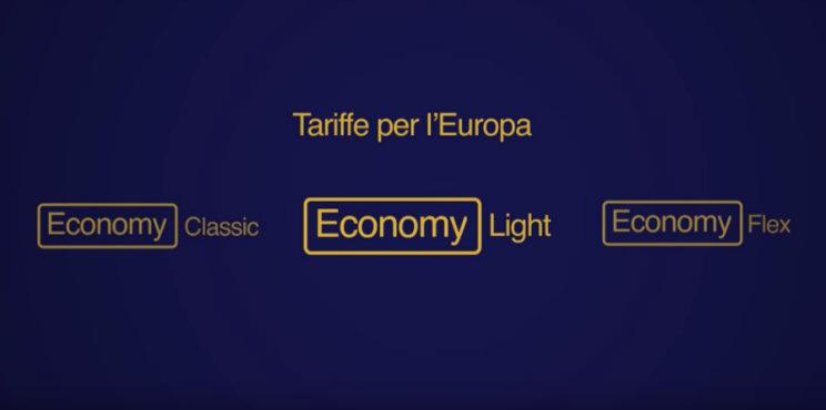 nuove tariffe europee lufthansa