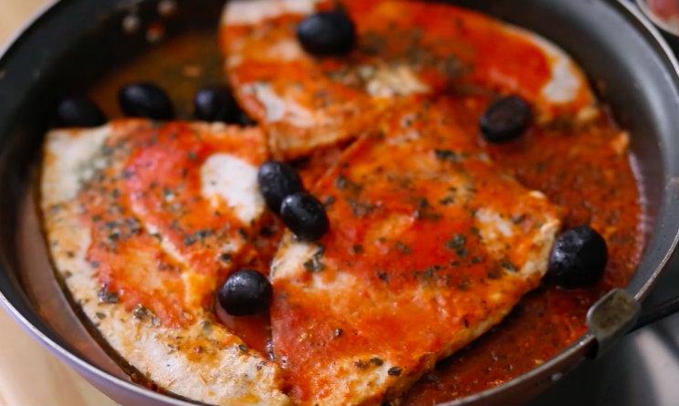 pesce spada alla mediterranea ricetta