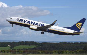 Offerte Ryanair, biglietti a meno di € 8: nuova rotta a partire da aprile