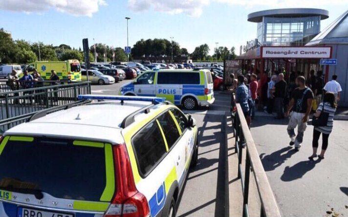 Svezia, spari al centro commerciale: un uomo ferito